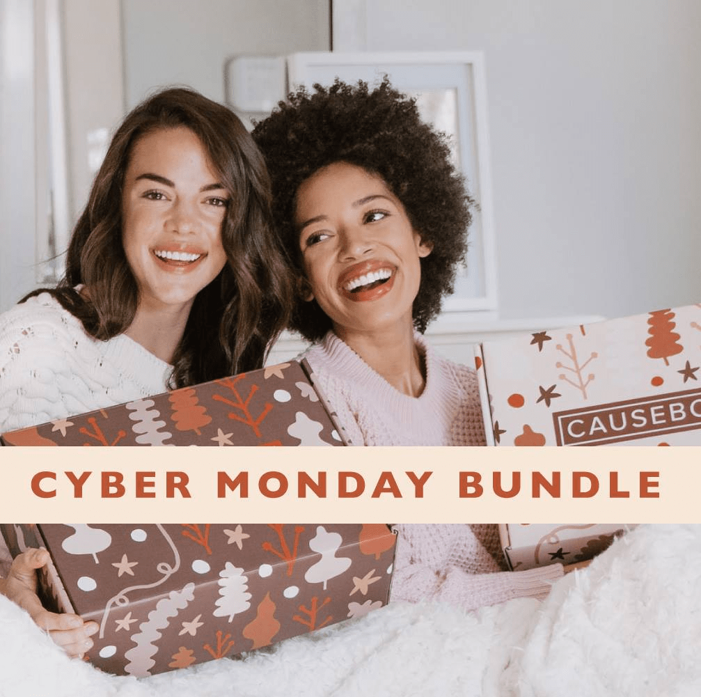 ENDING SOON Causebox Cyber Monday Deal: FREE $70 Value Bundle With Winter Box!