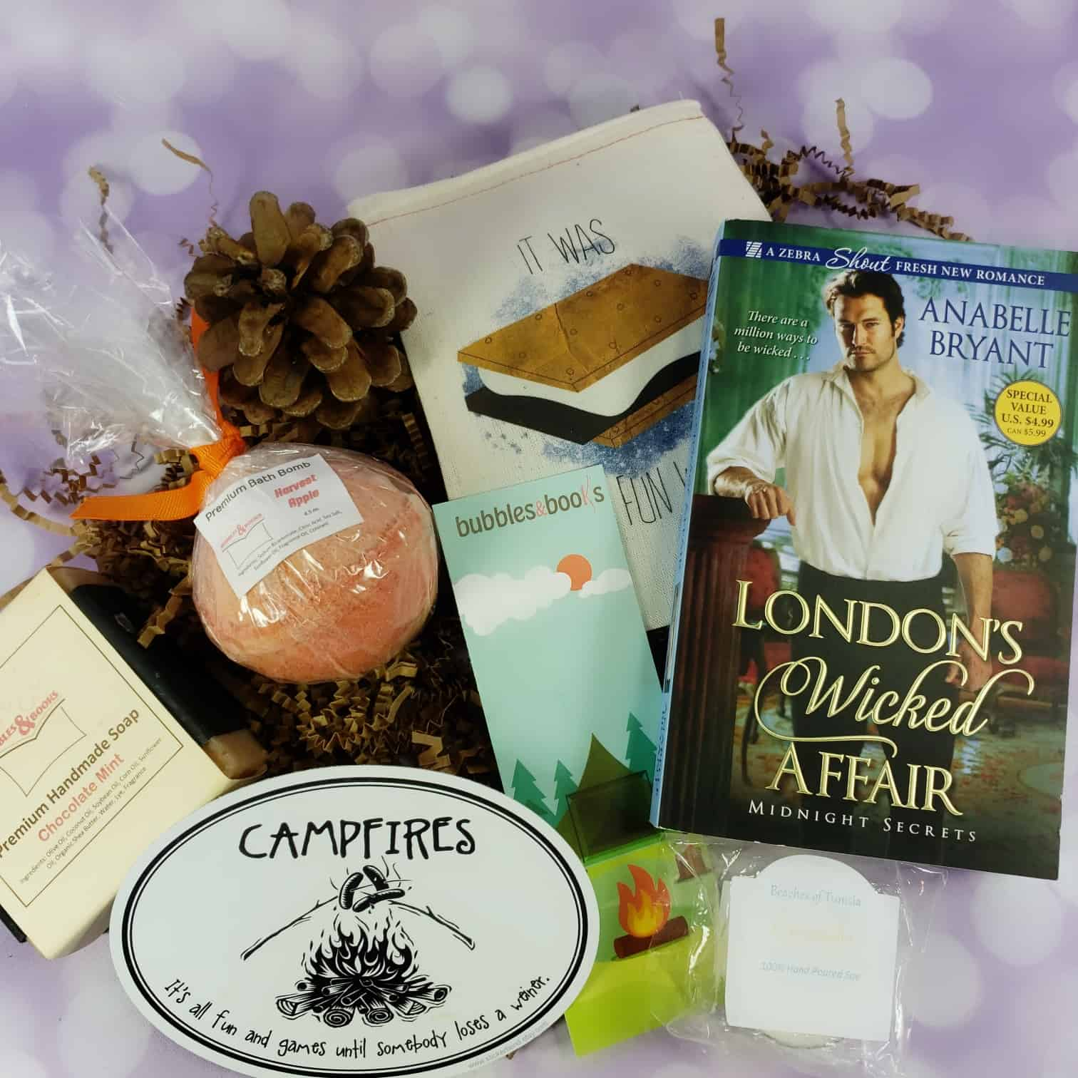 Bubbles & Books Subscription Box Review + Coupon – September 2018