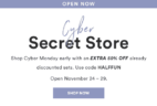 Julep December 2018 CYBER MONDAY Secret Store Open!