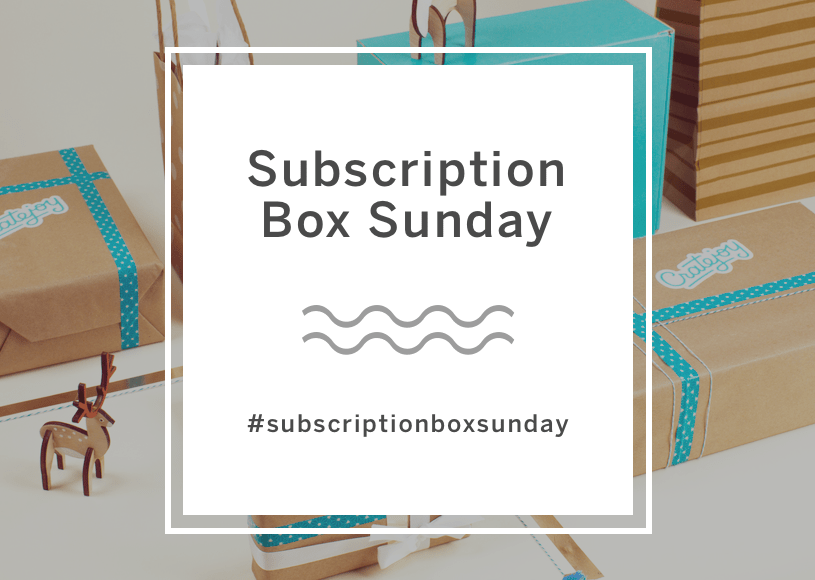 Cratejoy Subscription Box Sunday Sale 20% Off Subscriptions Today ONLY!