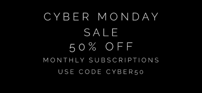 Cocotique Cyber Monday Deal – 50% Off first box!