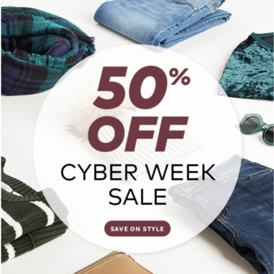 50% Off Wantable Style Edit Styling Fee ENDS TONIGHT!