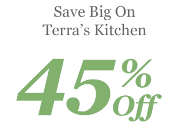 Terra's Kitchen Meal Kit Subscription Cyber Monday Sale: 45% Off!