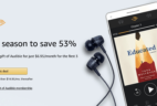 Amazon Audible Cyber Week Deal: $6.95/Month for 3 Months!