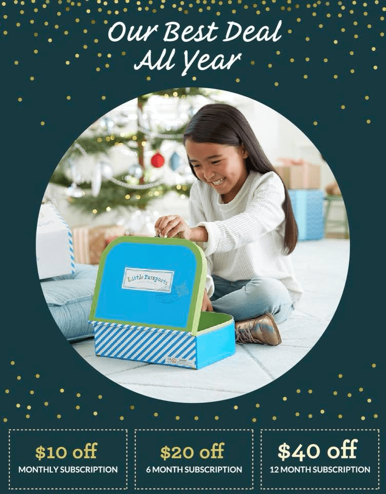 Little Passports Cyber Monday Deal ENDS TONIGHT: Get Up to $40 Off!