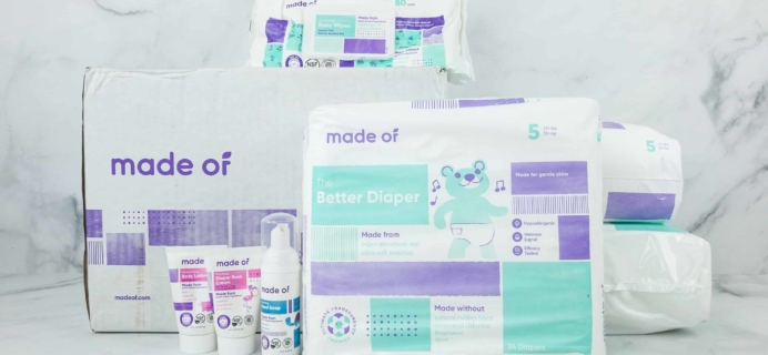 Made Of Diaper Subscription Box Review + Coupon!