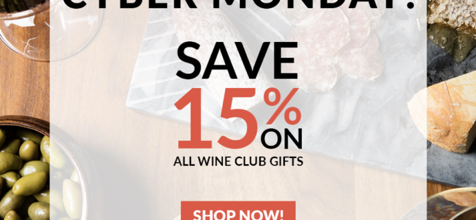 PLONK Wine Club Cyber Monday Deal – Save 15% On All Wine Gifts!