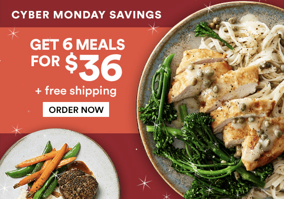 Gobble Dinner Kit Cyber Monday Deal: Get 6 Meals for Only $36!