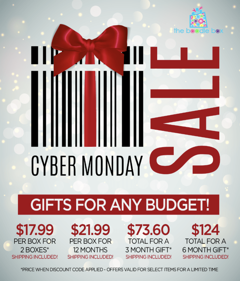 Boodle Box Cyber Monday 2018 Coupon: BOGO Deal!
