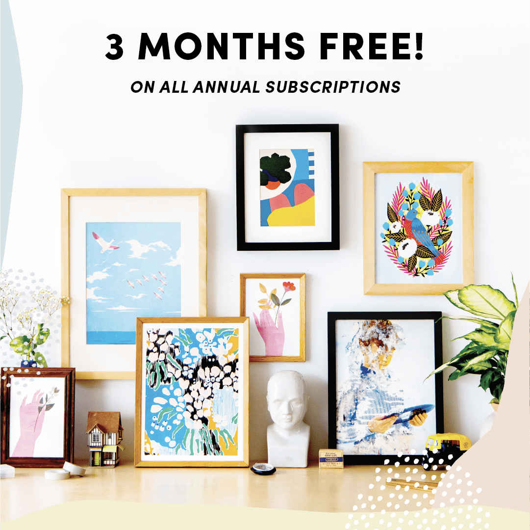 Papirmass Art Subscription Cyber Monday 2018: 25% Off Annual Subscriptions!