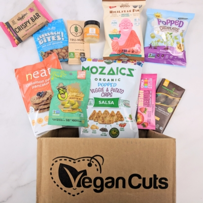 Vegan Cuts Snack Box November 2018 Subscription Box Review