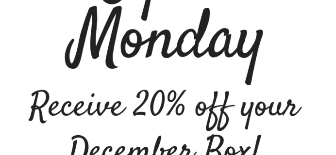 Sensory TheraPLAY Box Cyber Monday Coupon: 20% Off First Box!