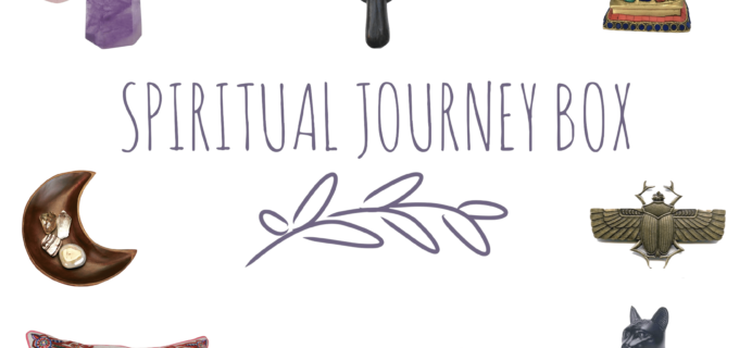 Spiritual Journey Box Cyber Monday Subcription Box Coupon: Save 20% on Prepaid Subscriptions!