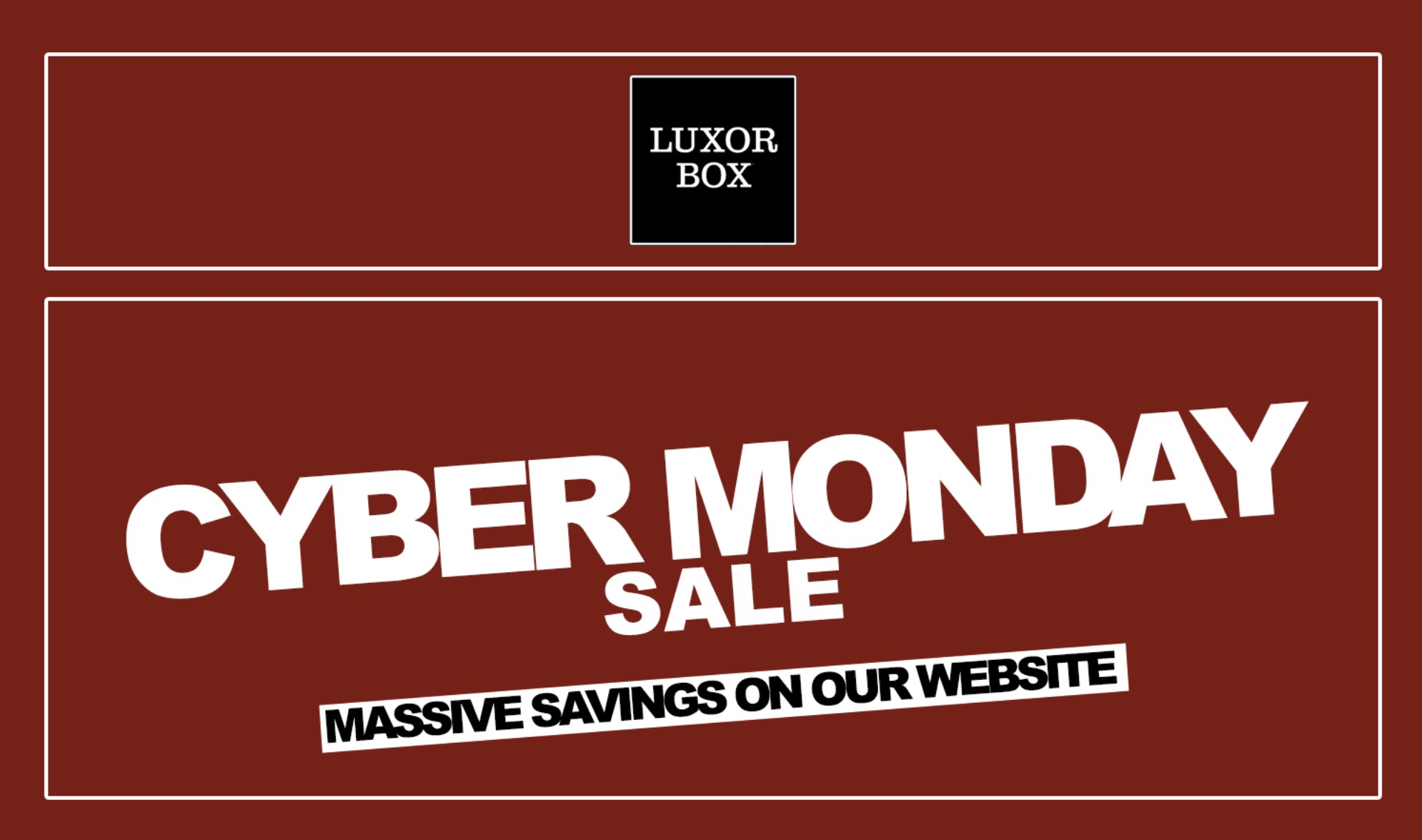 Luxor Box 2018 Cyber Monday Subscription Sale: 10% Off All Subscriptions!