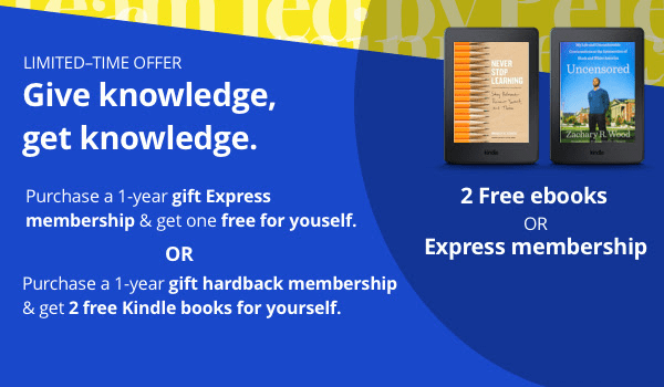 Next Big Idea Club Cyber Monday Deal: Get 2 Free Books or Free Express Membership with Annual Membership Purchase!