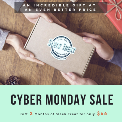 Sleek Treat Cyber Monday Deal: Get one month FREE with 3 Month Subscription!