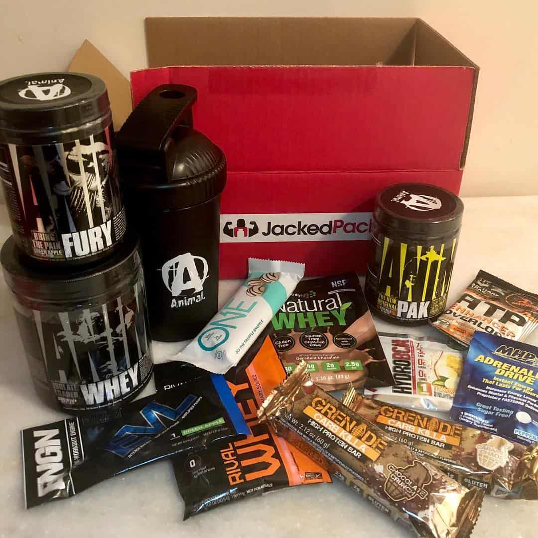Jacked Pack Cyber Monday Sale EXTENDED: Get a FREE Trial Pack With Your First Box + 20% Off Longer Subscriptions!