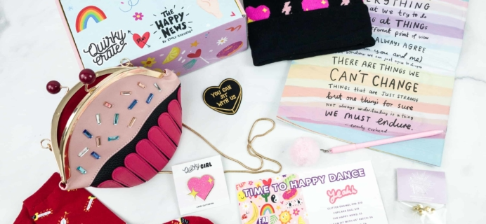 Quirky Crate November 2018 Subscription Box Review + Coupon