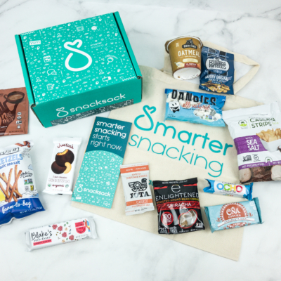 SnackSack November 2018 Subscription Box Review & Coupon – Classic