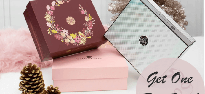 GlossyBox Coupon:  FREE Box with 3-Month Subscription!