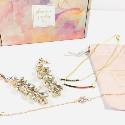 Glamour Jewelry Box November 2018 Subscription Box Review + Coupon