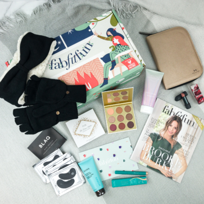FabFitFun Winter 2018 Box Review + $20 Coupon