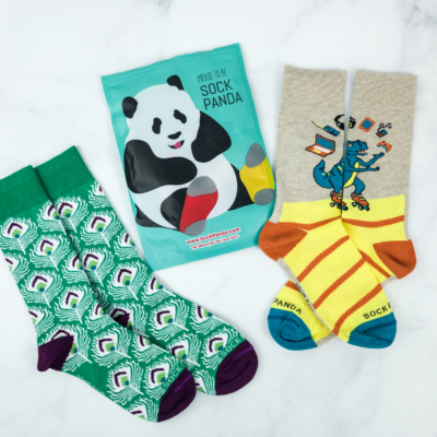 Sock Panda Tweens November 2018 Subscription Review + Coupon