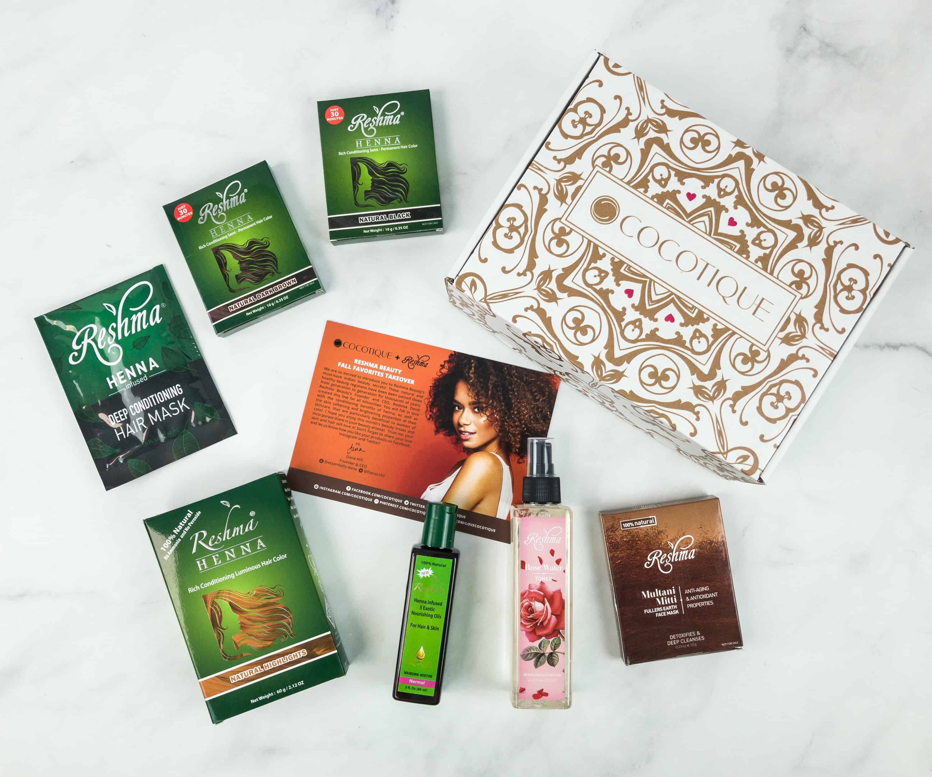 COCOTIQUE November 2018 Subscription Box Review + Coupon!