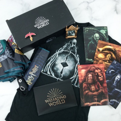JK Rowling's Wizarding World Crate November 2018 Review + Coupon