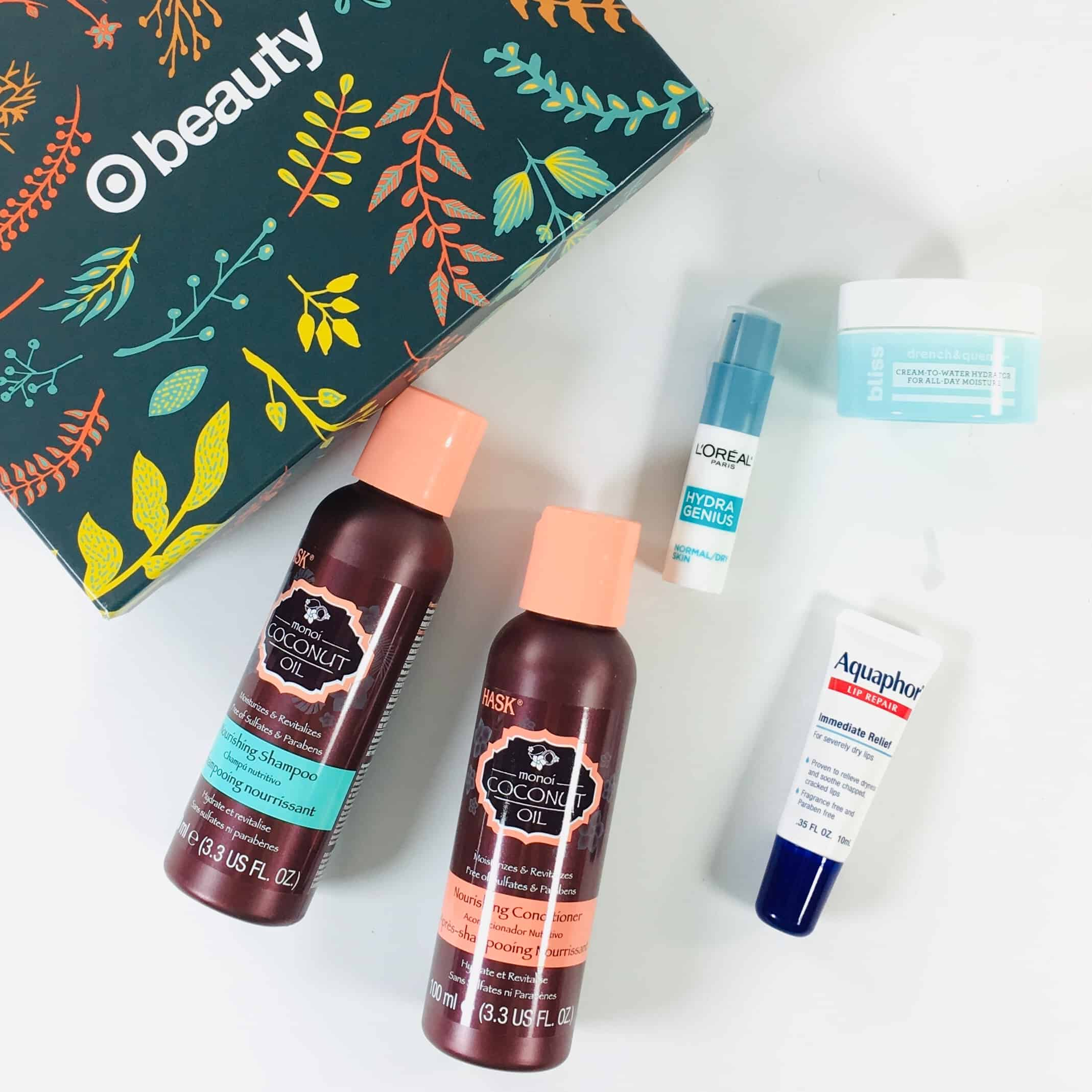 Target Beauty Box Review November 2018 - HELLO HYDRATION
