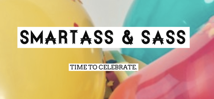 Smartass + Sass Box January 2019 Spoiler #1 + Coupon!