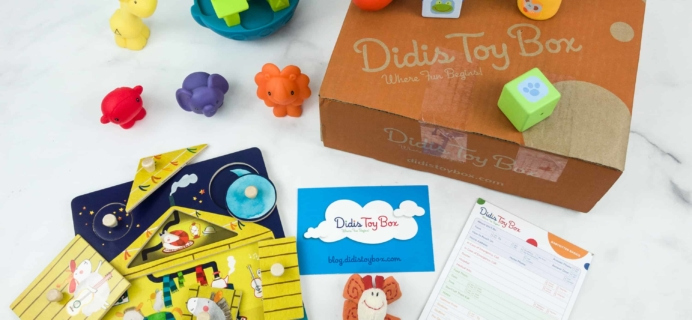 Didis Toy Box December 2018 Subscription Box Review & Coupon