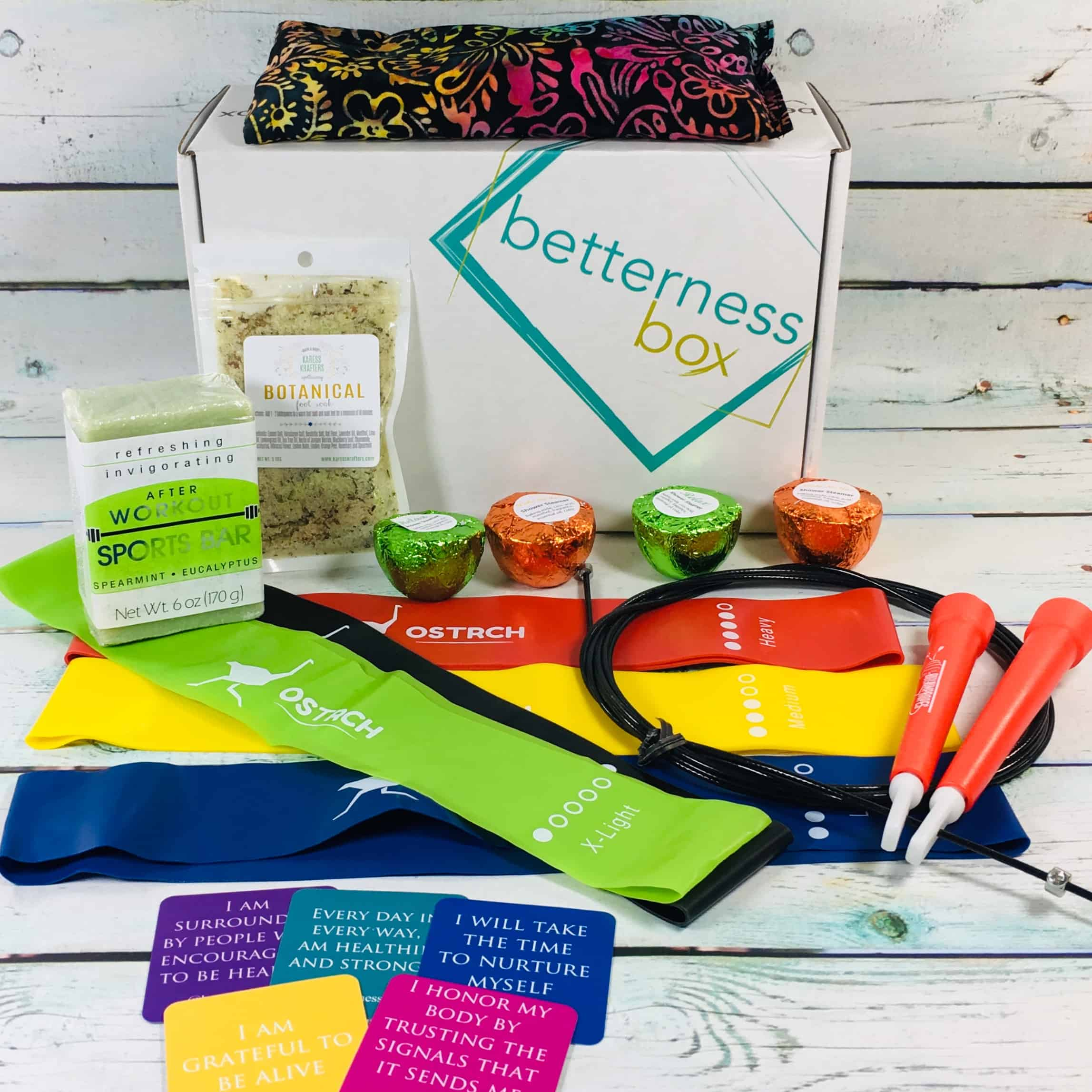 BetternessBox September 2018 Subscription Box Review