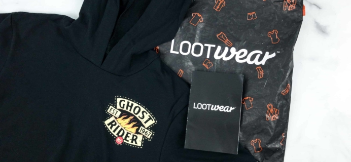 Loot Wearables Subscription by Loot Crate October 2018 Review & Coupon