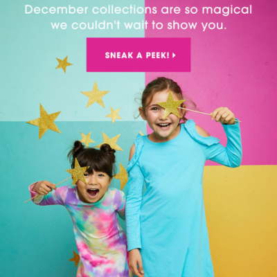 FabKids December 2018 Collection + Coupon!