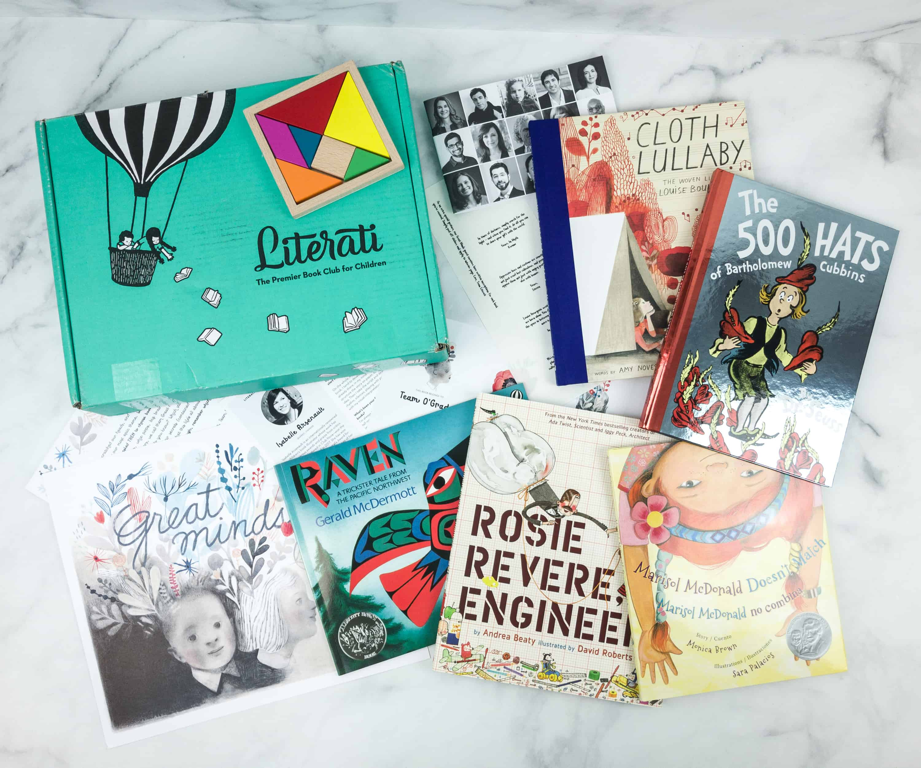 Literati Club Nova Box Review + Coupon – November 2018