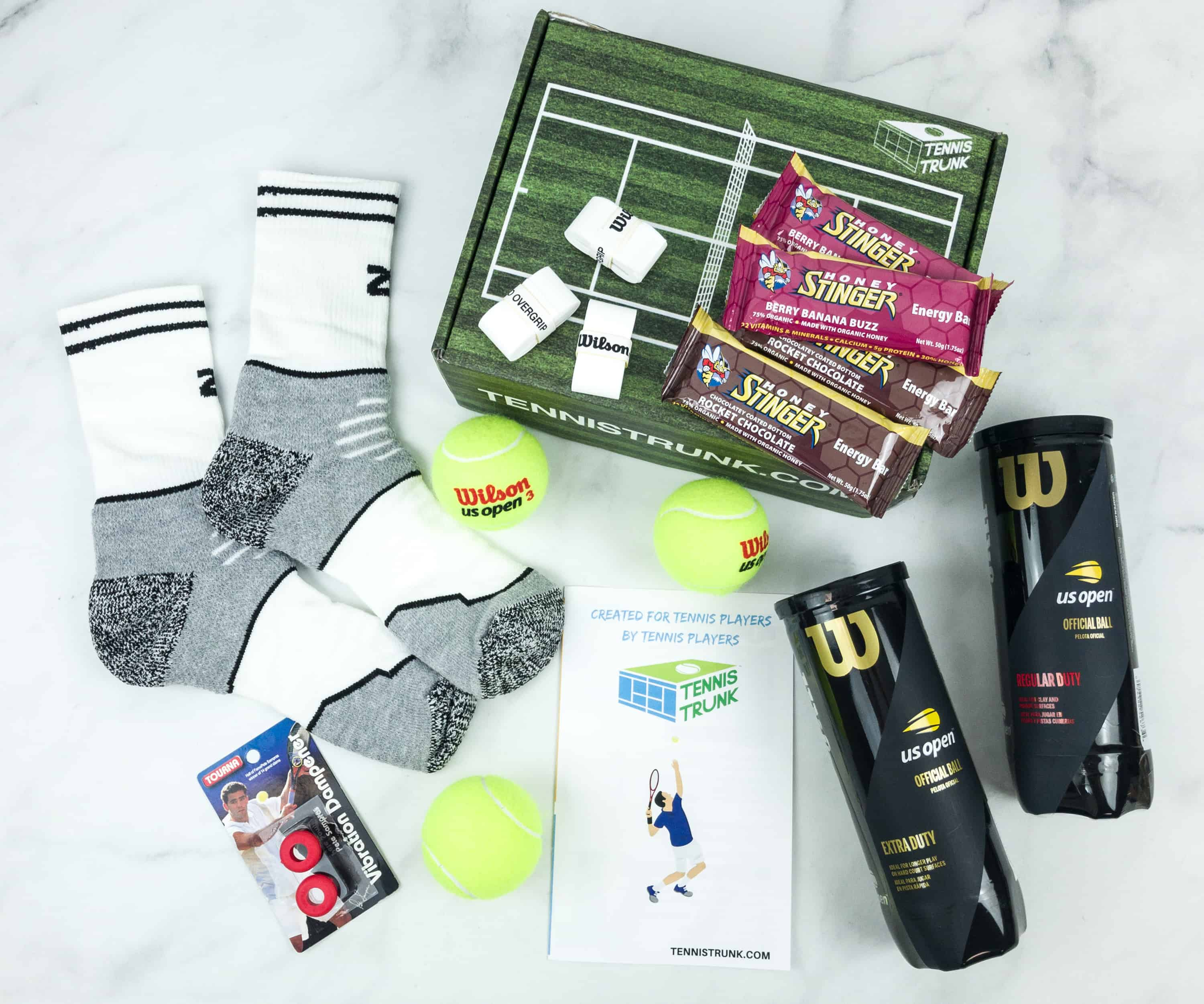 Tennis Trunk November 2018 Subscription Box Review & Coupon