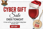 California Wine Club Cyber Week Deal: Extra Month on Gift Subscriptions – LAST DAY!