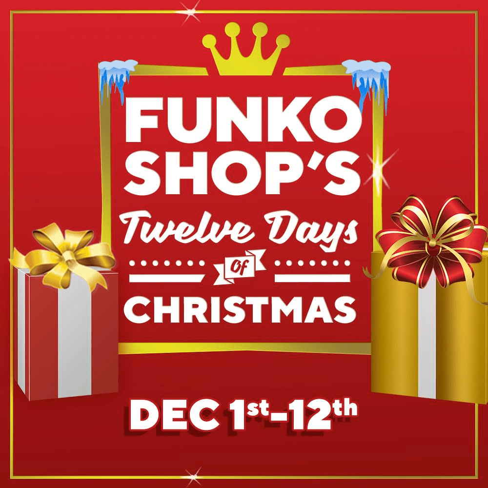 Funko 12 Days of Christmas 2018 Coming Soon!