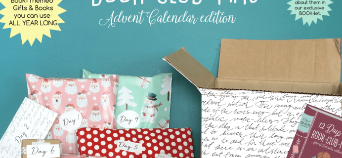 Once Upon a Book Club Advent Calendar Available Now + Coupon!