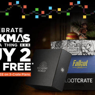 Loot Crate Geekmas Sale: Get Third Crate FREE on Select Crate Subscriptions!