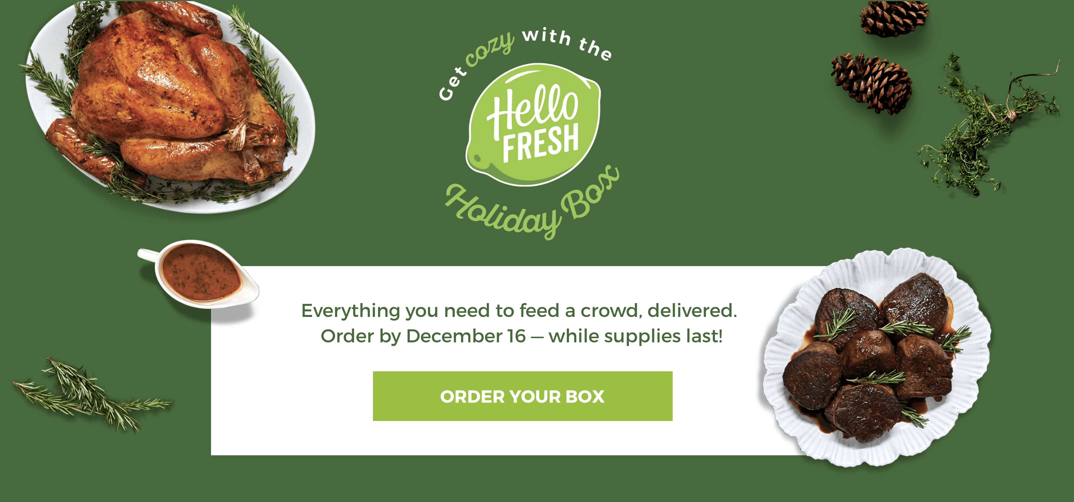 Hello Fresh Holiday Boxes Available For Pre-Order Now!