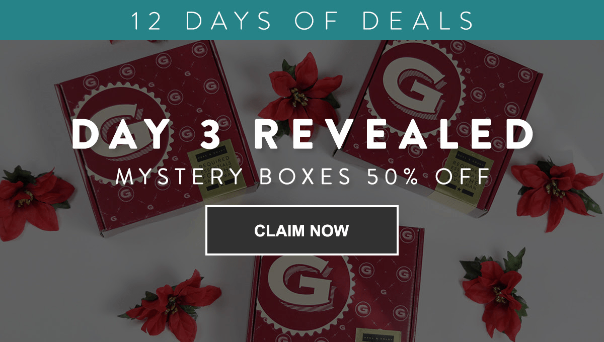 Gentleman's Box 12 Days of Deals: Get 50% Off On Mystery Boxes!