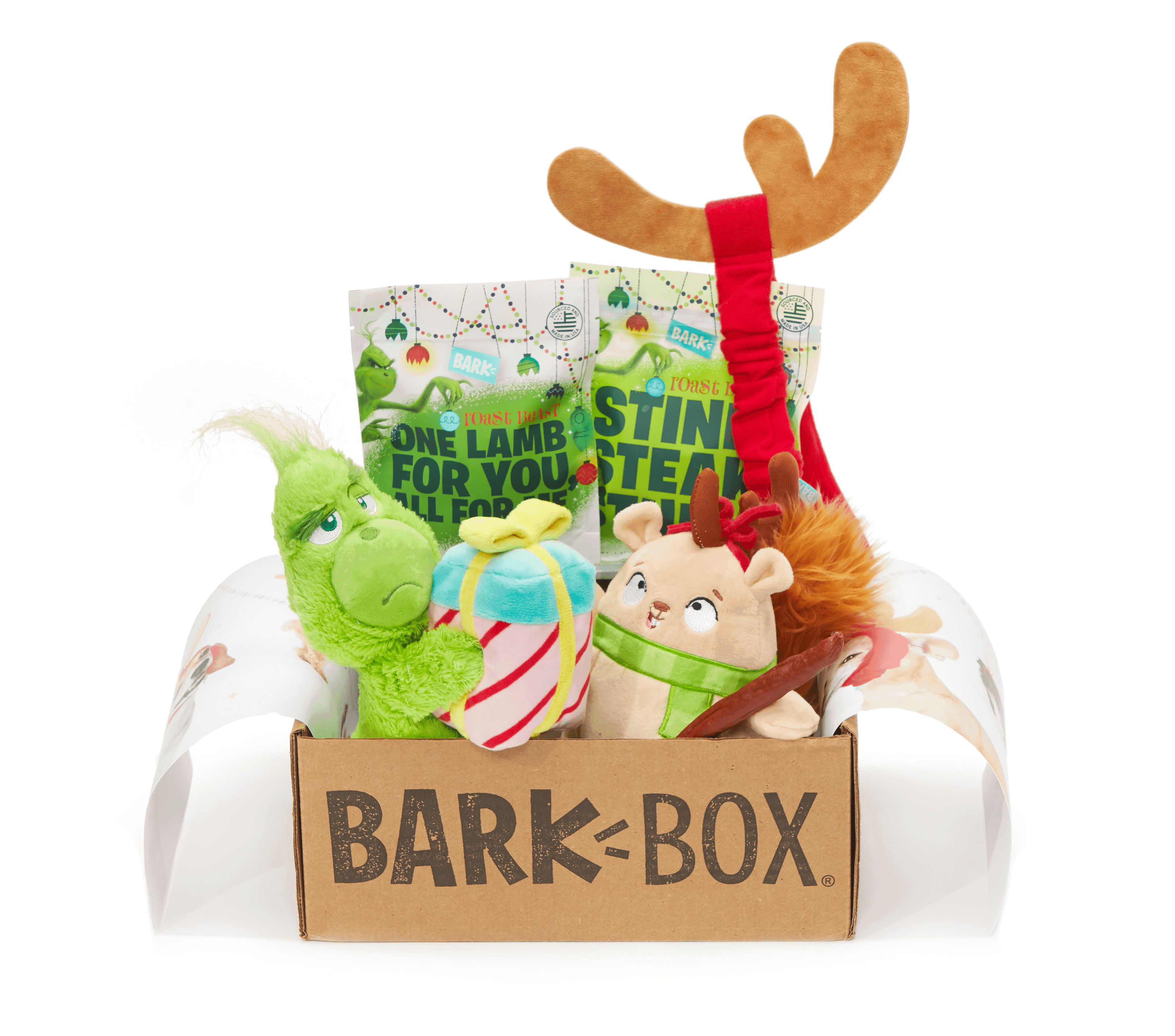 Order BarkBox Now For Guaranteed Grinch Box + Coupons!