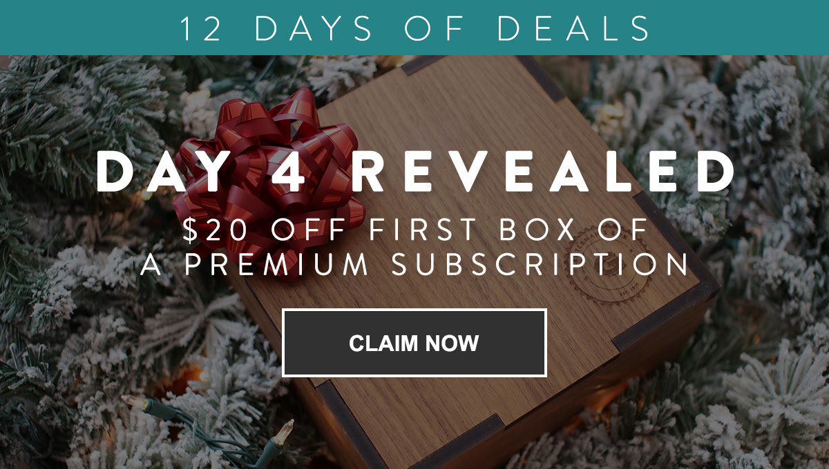 Gentleman's Box Premium Coupon: Save $20 On First Box!