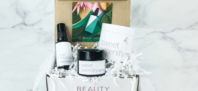 Beauty Heroes December 2018 Subscription Box Review