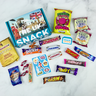 Snack Crate November 2018 Subscription Box Review & $10 Coupon