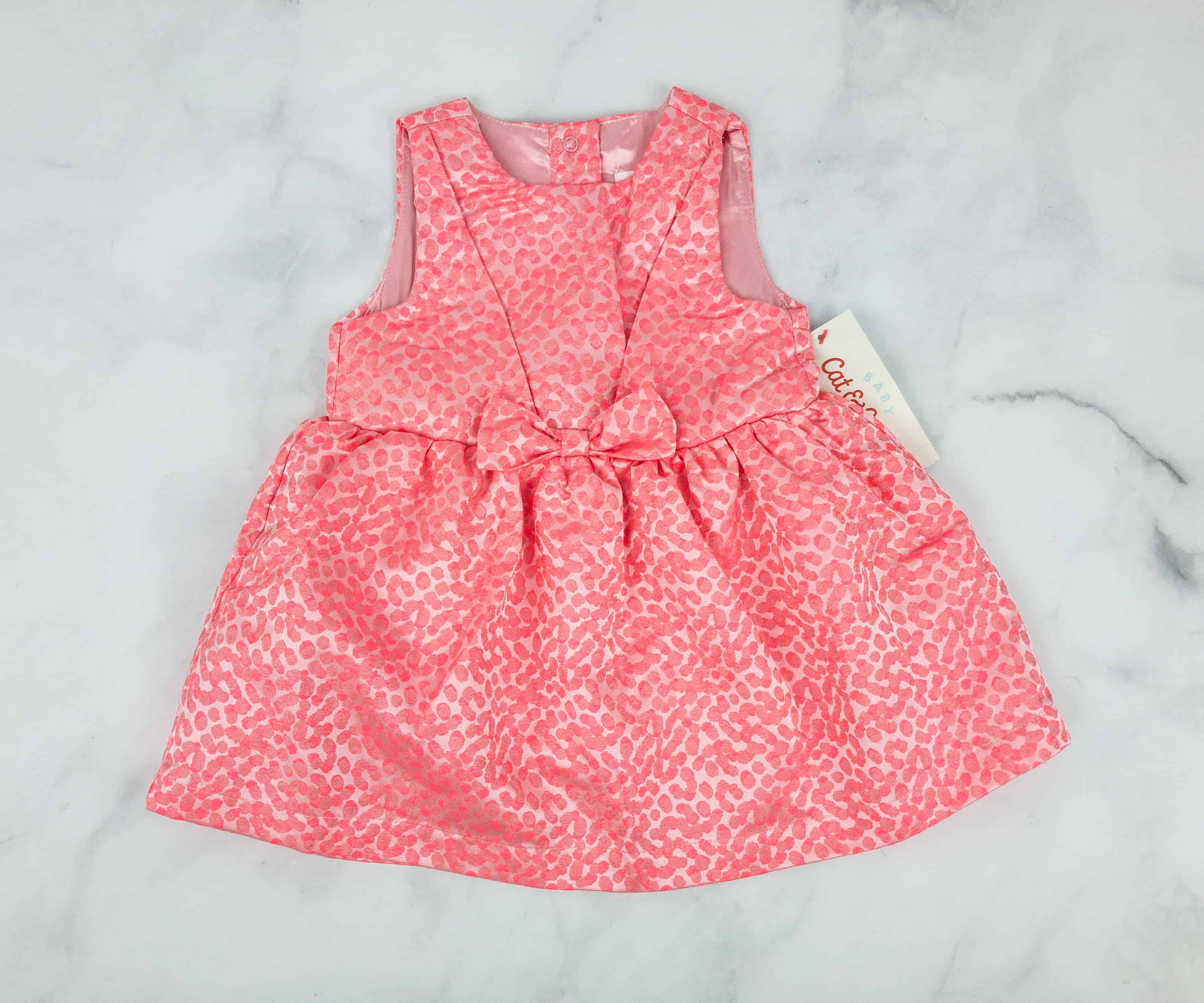 0465f43f8 Cat & Jack Baby Girl Dress Set. This little baby dress in salmon pink is so  dainty! It seems like the perfect outfit for special occasions too.