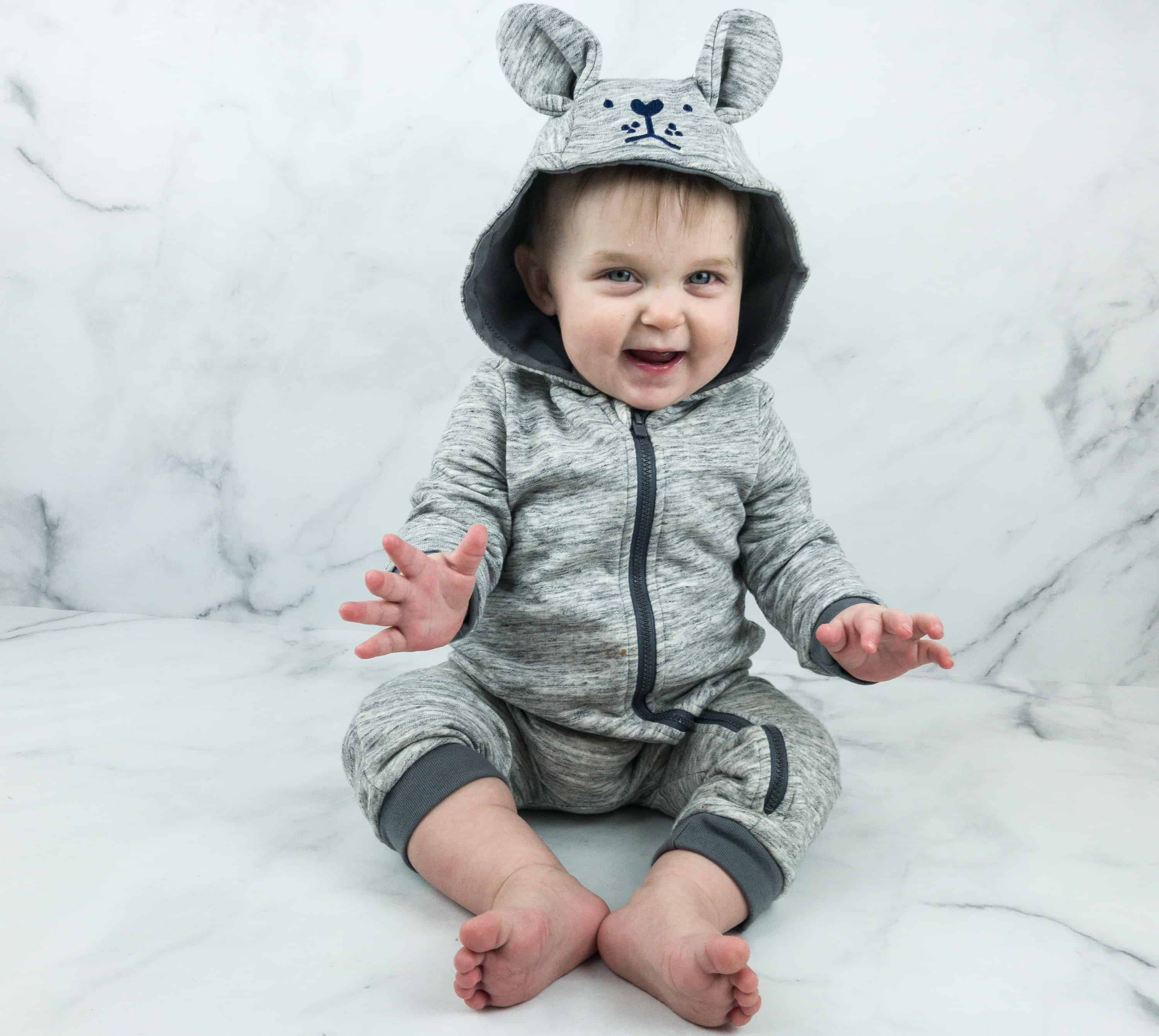 ac455ede7f36 All we need are some socks and shoes and we re ready to enjoy the outdoors! Target s  Cat and Jack Baby Outfit Box ...