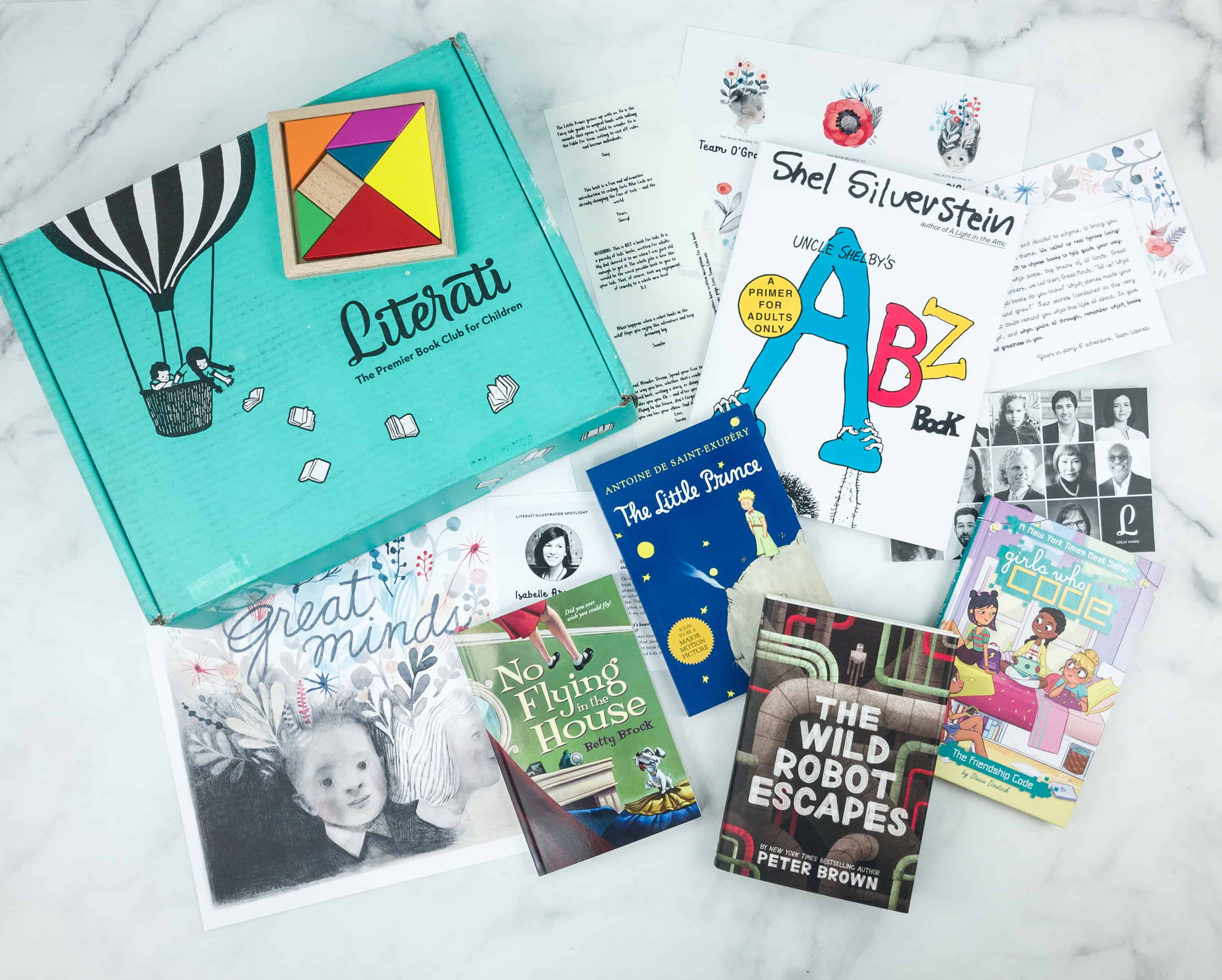 Literati Club Sage Box Review + Coupon – November 2018